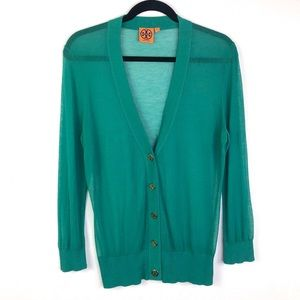 Tory Burch Lightweight Button Up Cardigan